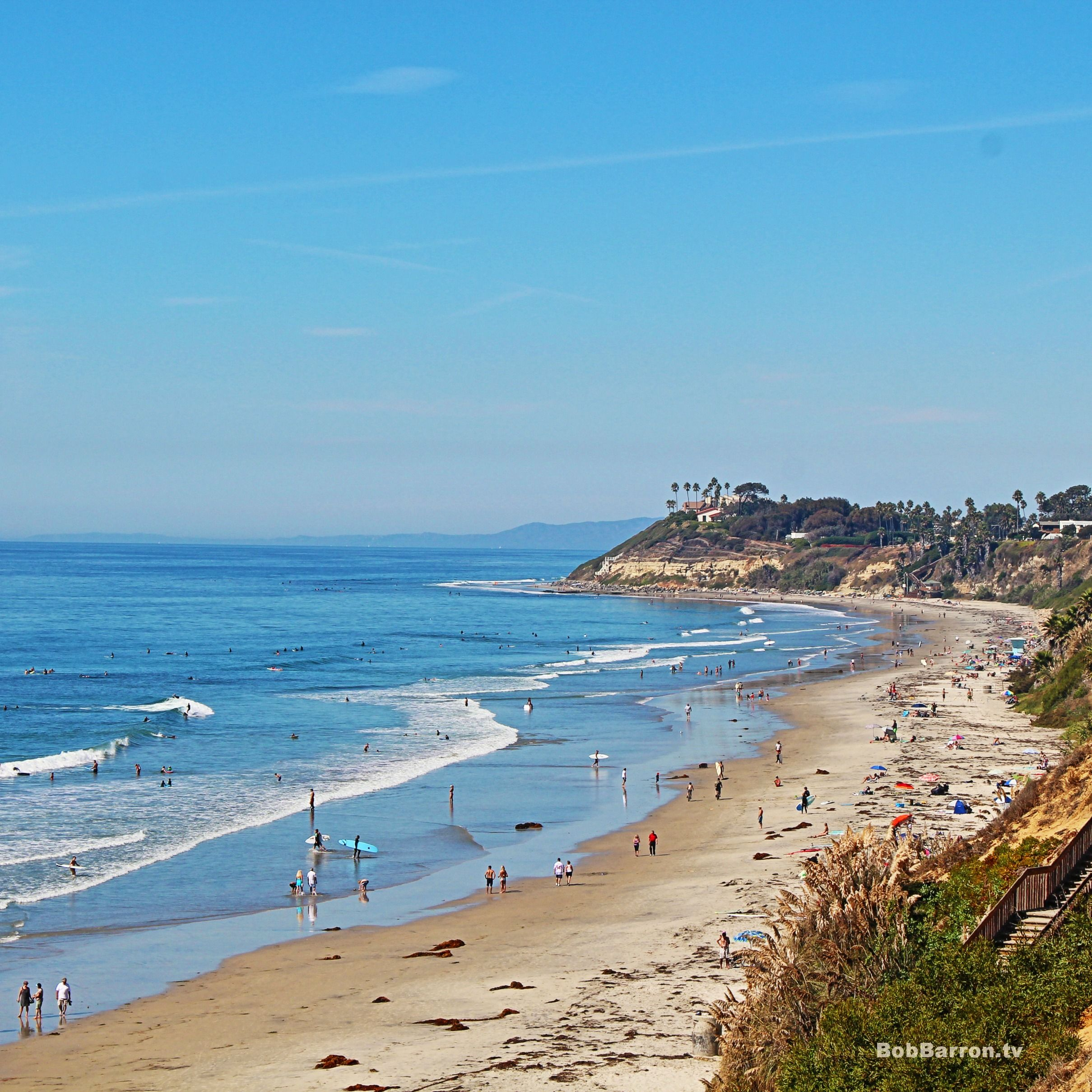 Cardiff State Beach located in #Encinitas California is a really ...