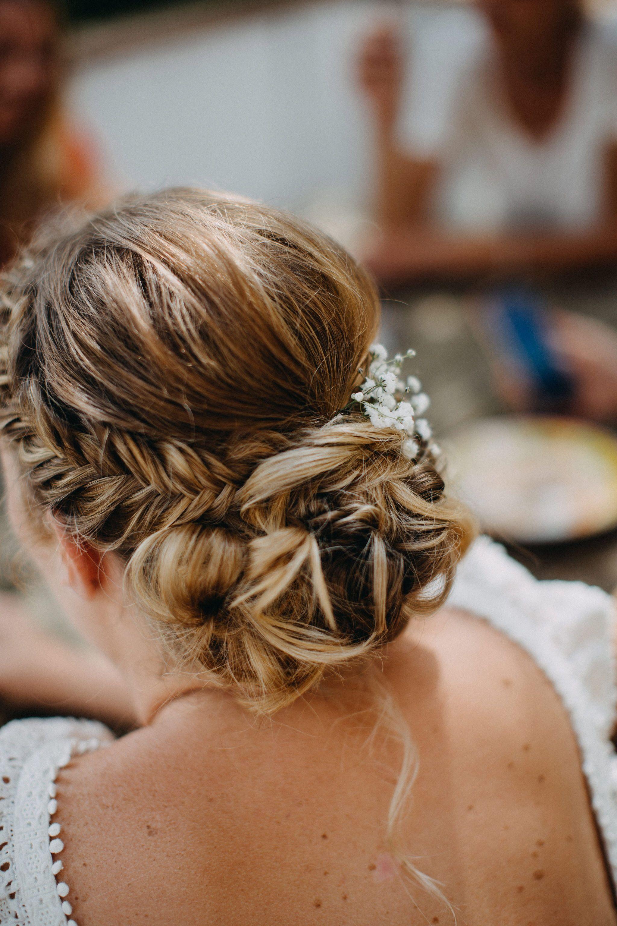 34++ Coiffure mariage tresse chignon idees en 2021
