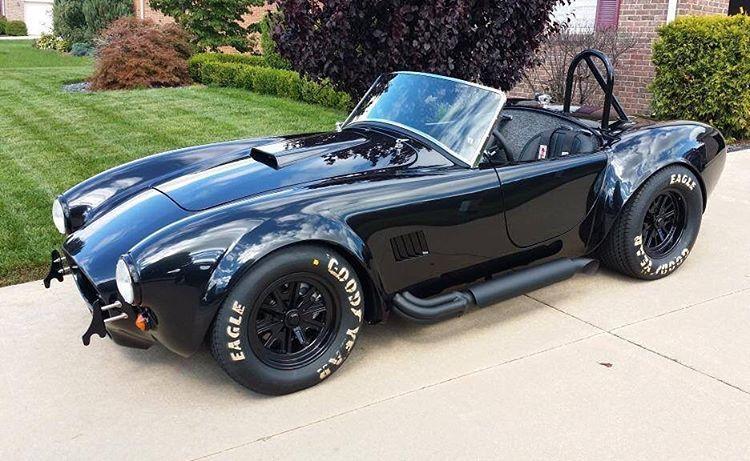 Cobra Kit Car >> Pin By Greg Morris On Black Out Factory Five Cobra