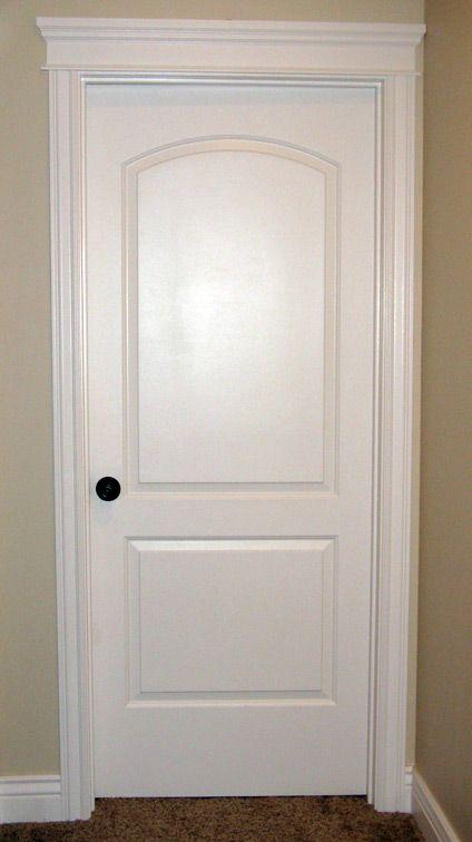 Interior Door Love The Crown Over A Bedroom Door My