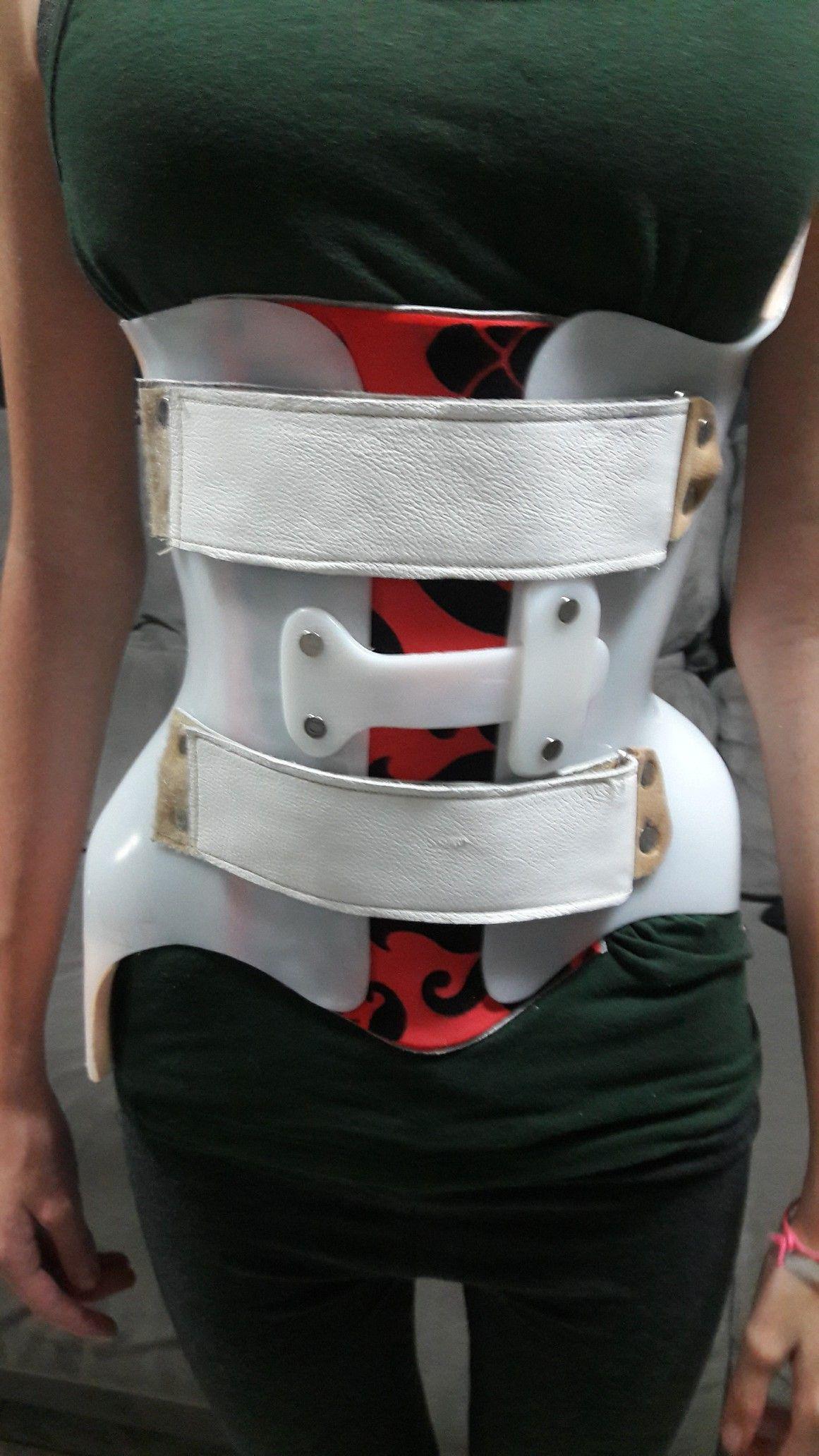 Órtese colete OTLS para tratamento de escoliose torácica e lombar