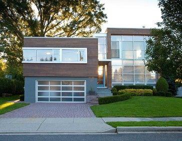 Modernized split level exterior save to ideabook 125 ask for Modern split level homes