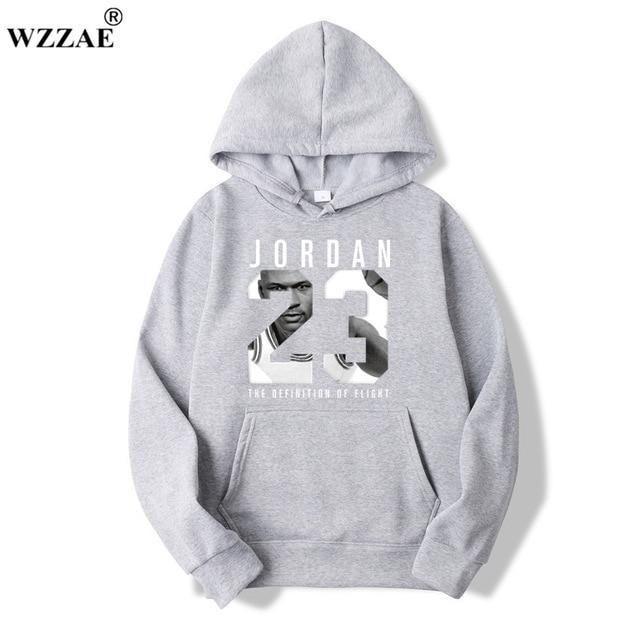 dab39bba706934 WZZAE 2018 Brand New Fashion JORDAN 23 Men Sportswear Print Men Hoodies  Pullover Hip Hop Mens tracksuit Sweatshirts Clothing