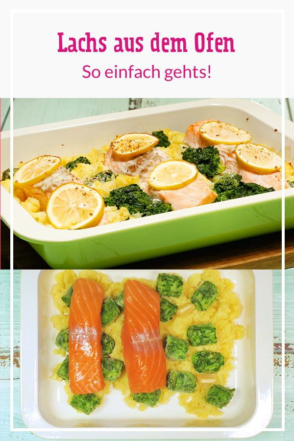 Schneller Lachs aus dem Ofen