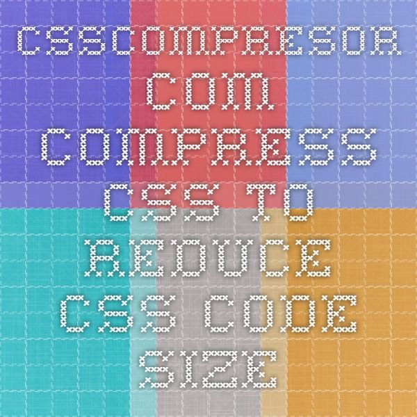 csscompresor.com   Compress CSS to reduce CSS code size