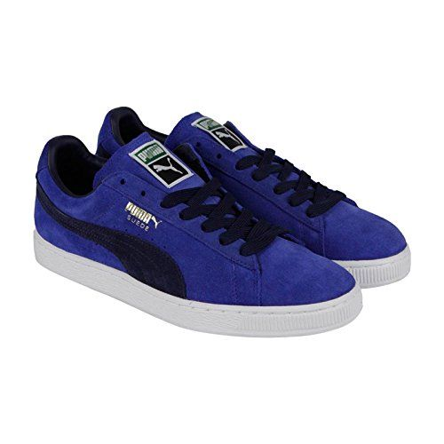PUMA Suede Classic Sneaker,Limoges/Peacoat,8 M US - http:/
