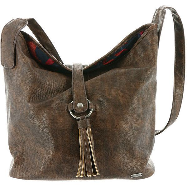 464dbbdee5 Roxy Latest Chill Shoulder Bag Brown Bags ( 45) ❤ liked on Polyvore  featuring bags