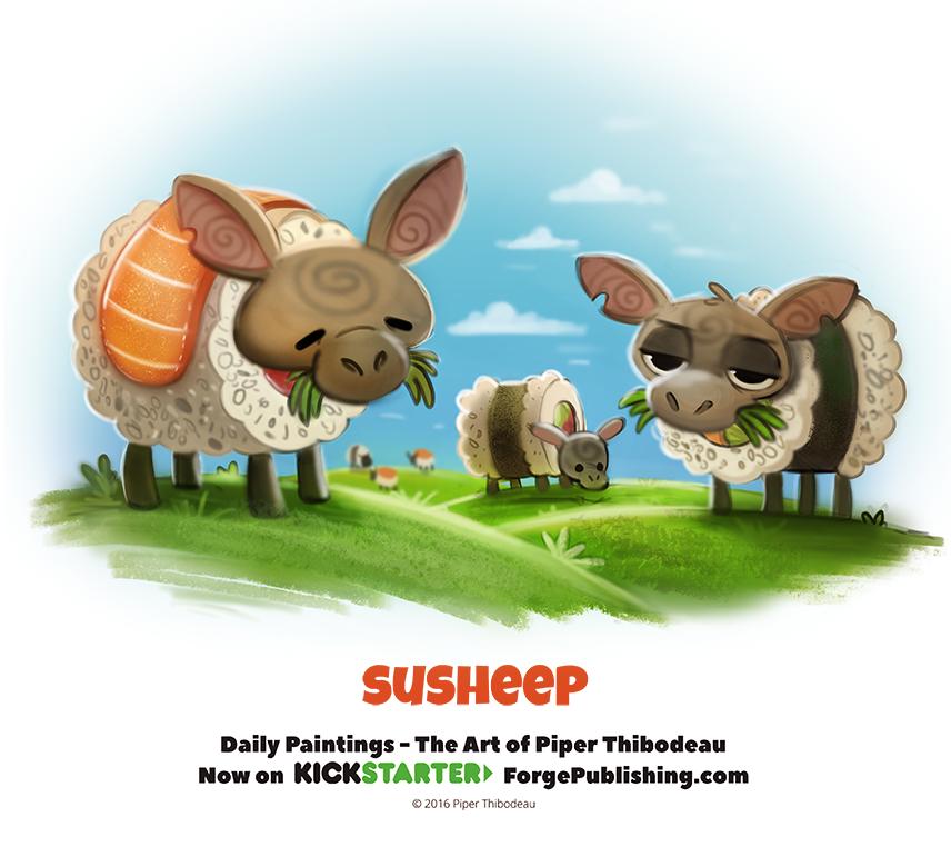 Day 1370. Susheep by Cryptid-Creations.deviantart.com on @DeviantArt