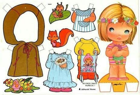 Boneca pra vestir