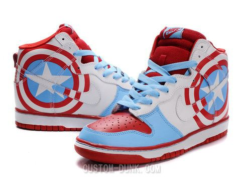 nike captain america dunks
