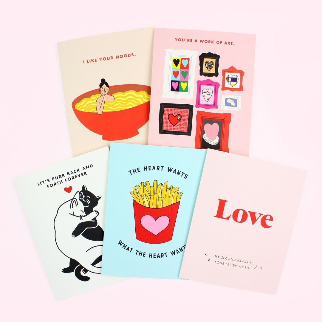 Its All About That Modern Romance New Love Cards From