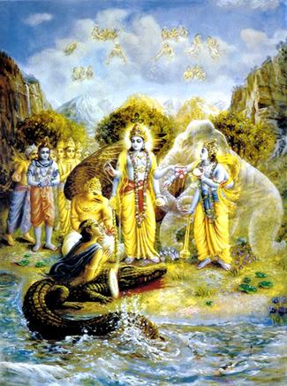 GAJENDRA MOKSHA http://mudigeretemple.weebly.com/stories-and-legends/category/gajendra%20moksham