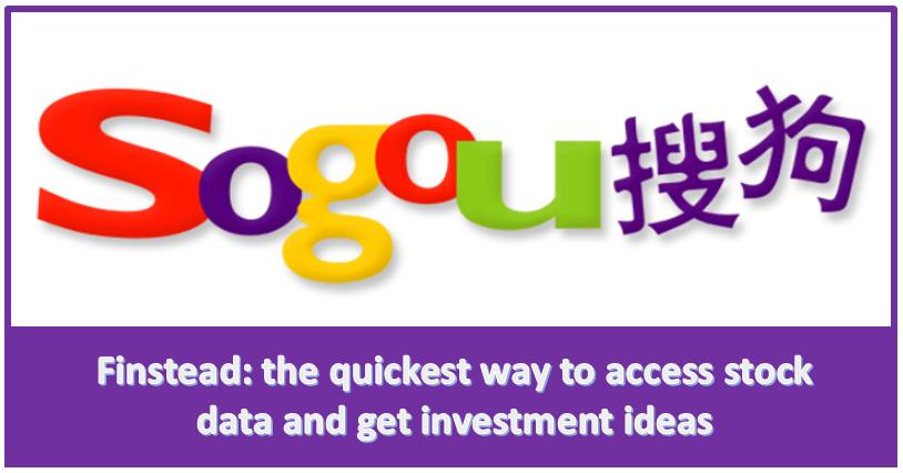 Sogou (SOGO) is soaring welldeserved? Stock data