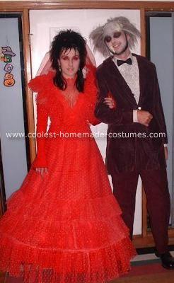 Coolest Beetlejuice and Lydia Wedding Costume | Beetlejuice ...