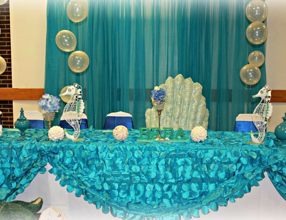 Under The Sea Birthday Under The Sea Sweet 16 With Images