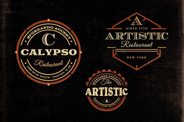 15 Free Vintage Logo Template Collections Badges, Logos and Template - abel templates psd
