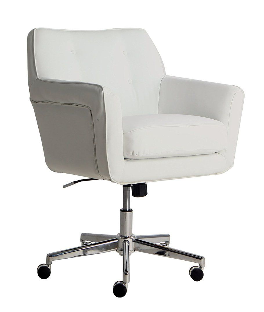 White Desk Chair Wood 20 Cheap Comfy Desk Chair Ideas For Beautiful Home Offices Or
