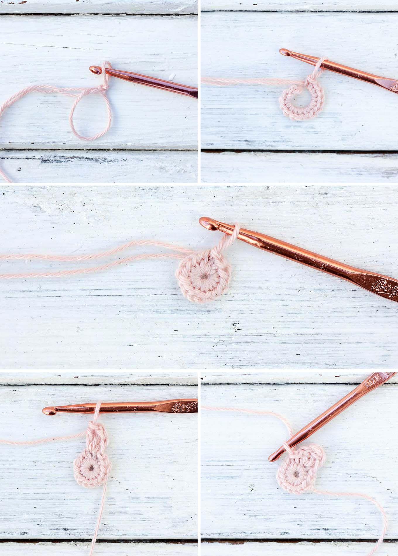 Free Crochet Cherry Blossom Pattern | Flores de ganchillo, Cerezo y ...