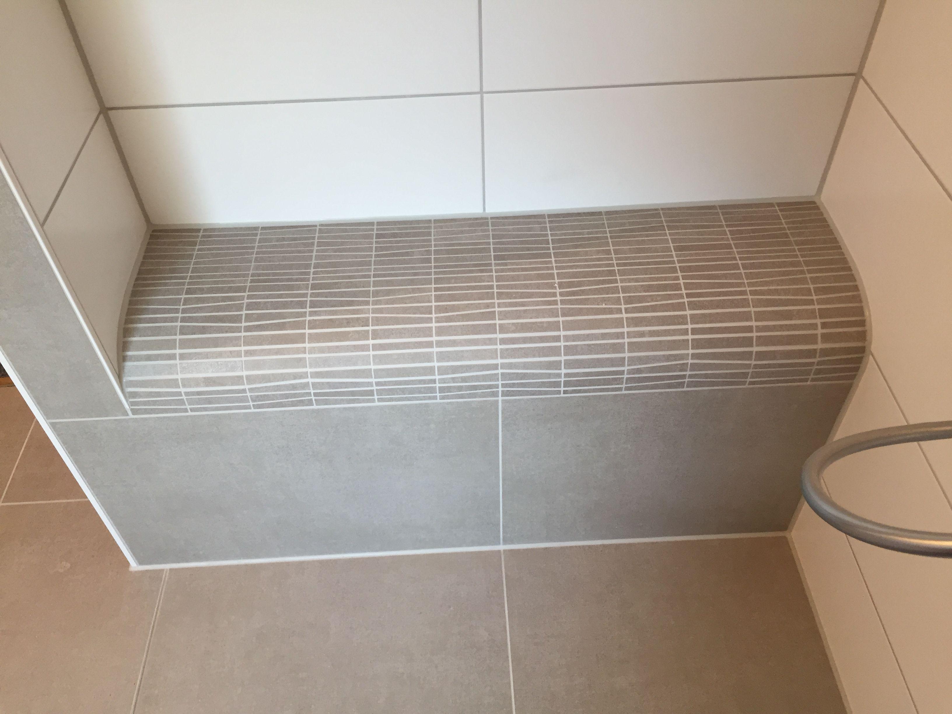 Begehbare Dusche mit Ablage Ablage dusche, Dusche