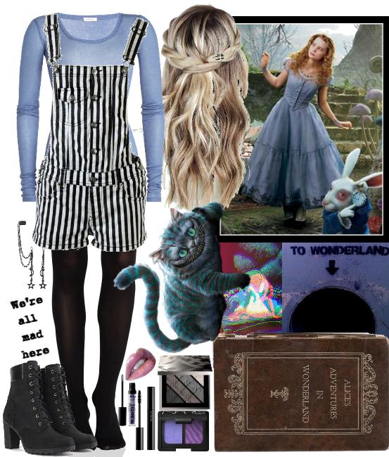 Modern Alice In Wonderland Alice In Wonderland Outfit Alice In