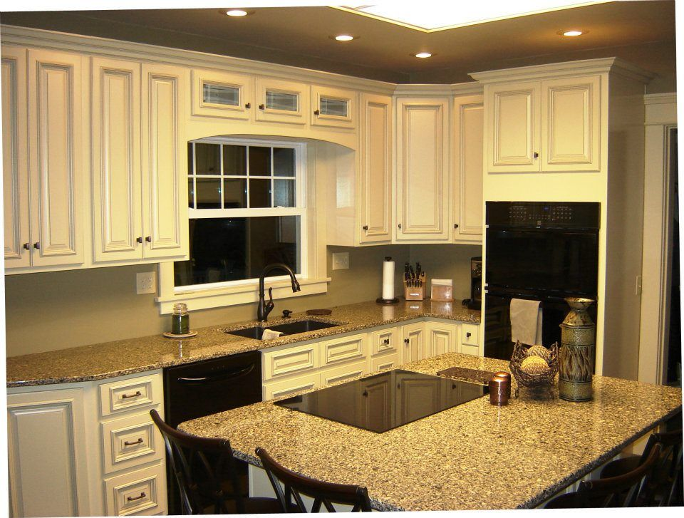 Arlington White Kitchen Cabinets - Featuring Stacker ...