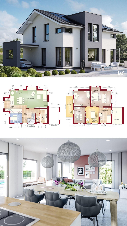 Pin auf Einfamilienhaus Ideen & Grundrisse