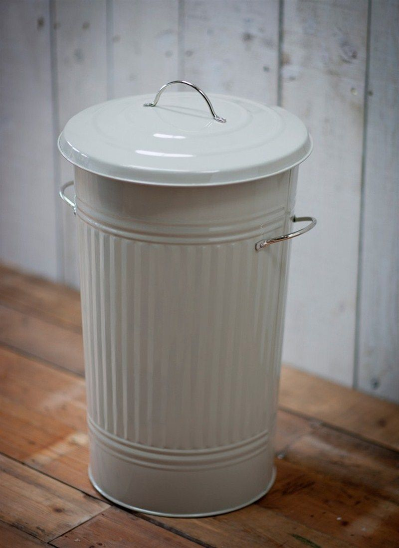 We Have Given The Classic Galvanised Steel Dustbin A Smart Modern Makeover  With This Large Kitchen Waste Bin. Practical As Well As Stylish, ...