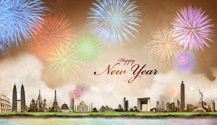 Ucapan Selamat Tahun Baru Terbaik  100% HD Wallpaper  Selamat