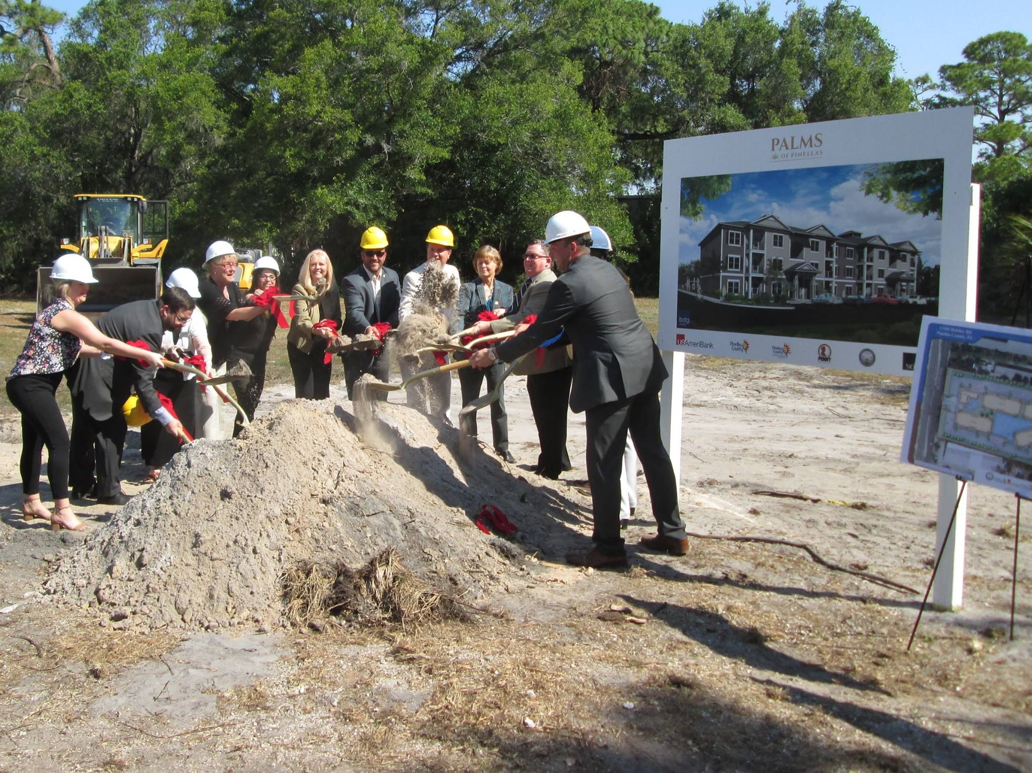 Palms of Pinellas Breaks Ground Palm, Grounds