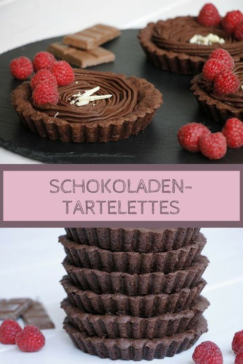 """""""Muttertagsüberraschung"""": Schokoladen-Tartelettes und Einladung zum Nachmittagskaffee – Lavendelblog"""
