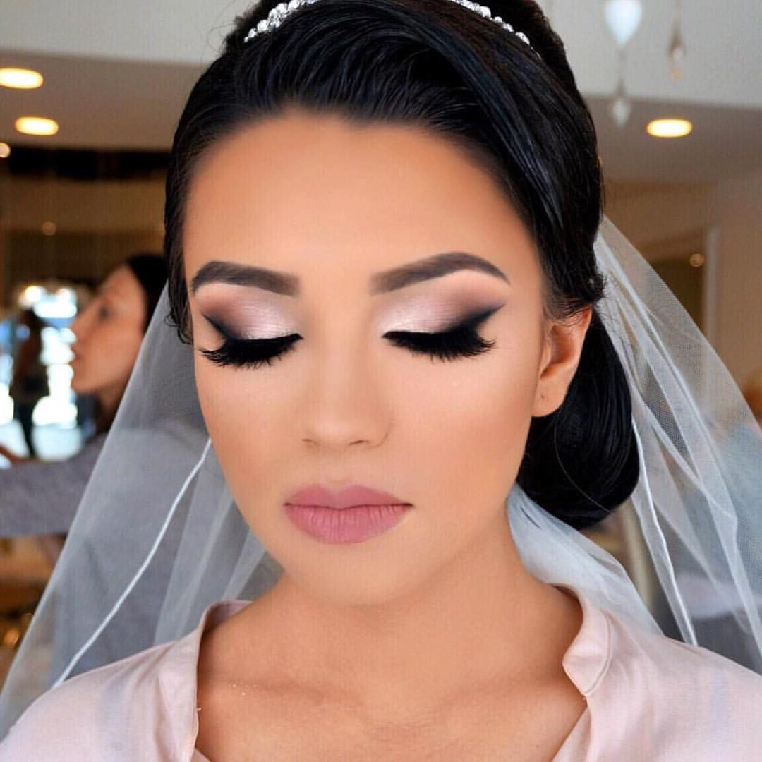 Bridal glam by the amazing @vanitymakeup 😍👌🏼#makeup # ...