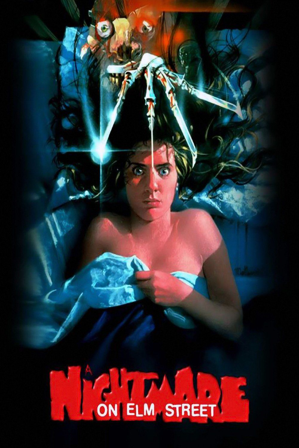 A Nightmare On Elm Street 1984 Horror Movie Directed By Wes