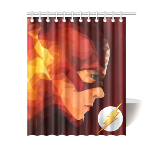 The Flash Bathroom Waterproof Shower Curtain Is Waterproof Polyester Fabric Shower Curtain Images Imprinted Using Shower Curtain Decor Shower Curtain Curtains