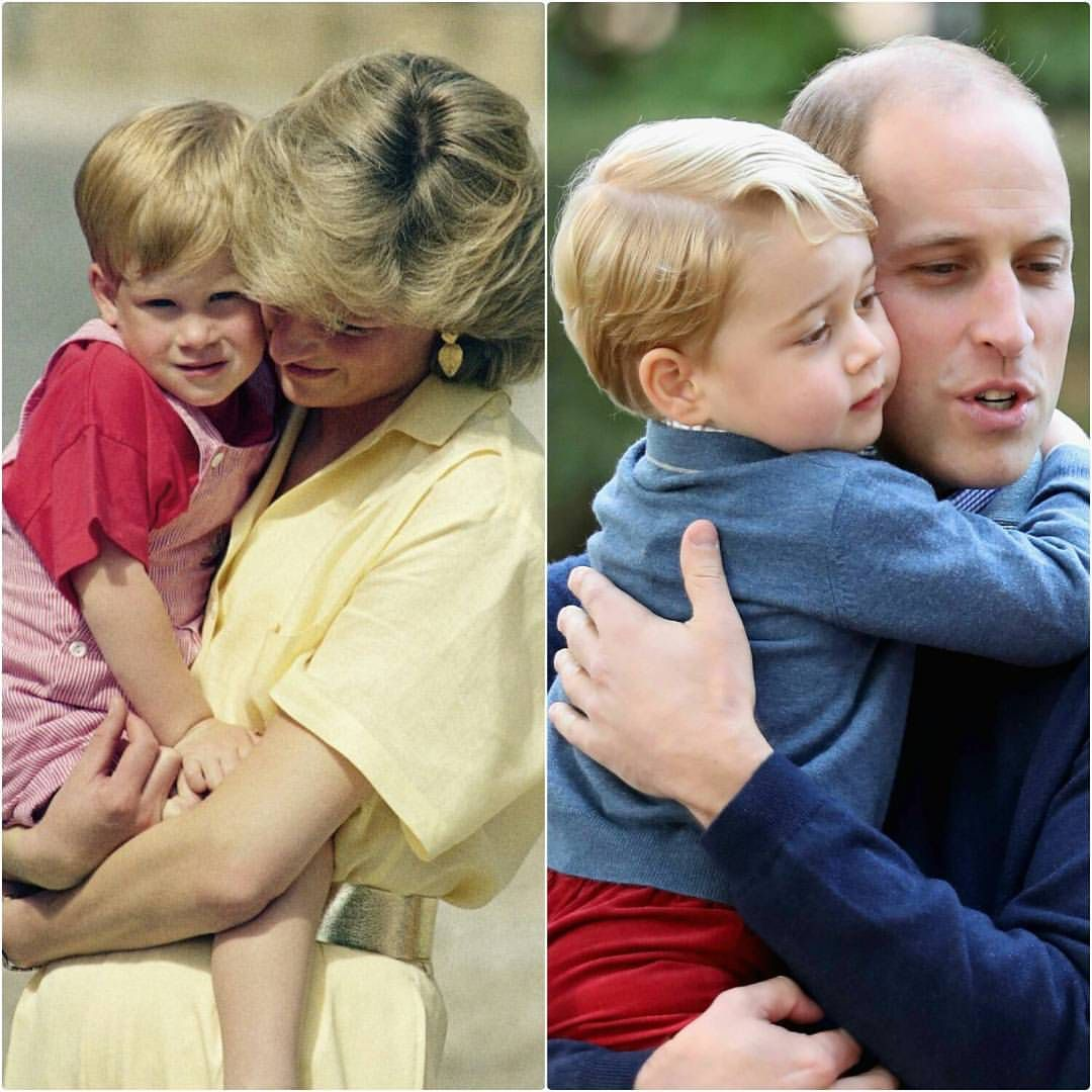 Prince Harry And His Mother Diana