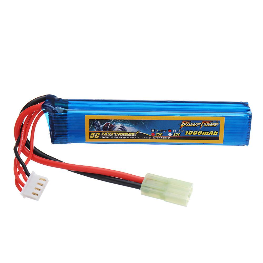 Us 17 16 Giant Power 11 1v 1000mah 3s 15c Lipo Battery Airsoft Pack Mini Tamiya Plug Rc Parts From Toys Hobbies And Robot On Banggood Com Lipo Battery Lipo Airsoft