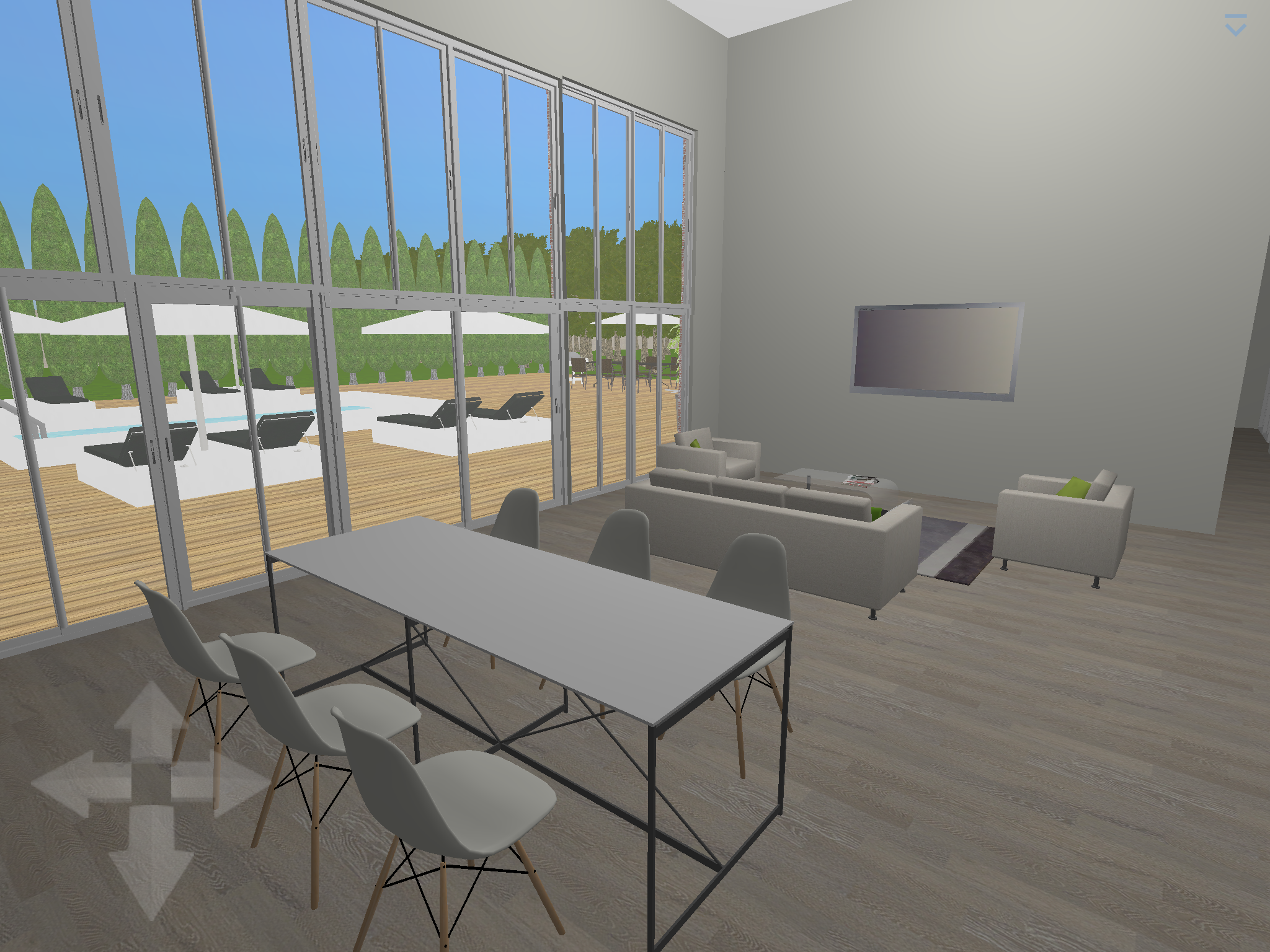 plan 3d salon salle manger logiciel home design 3d gold - Home Design 3d Gold