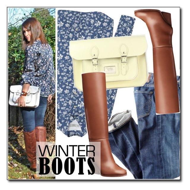 """So Cozy: Winter Boots"" by leathersatchel ❤ liked on Polyvore featuring Citizens of Humanity and MANGO"