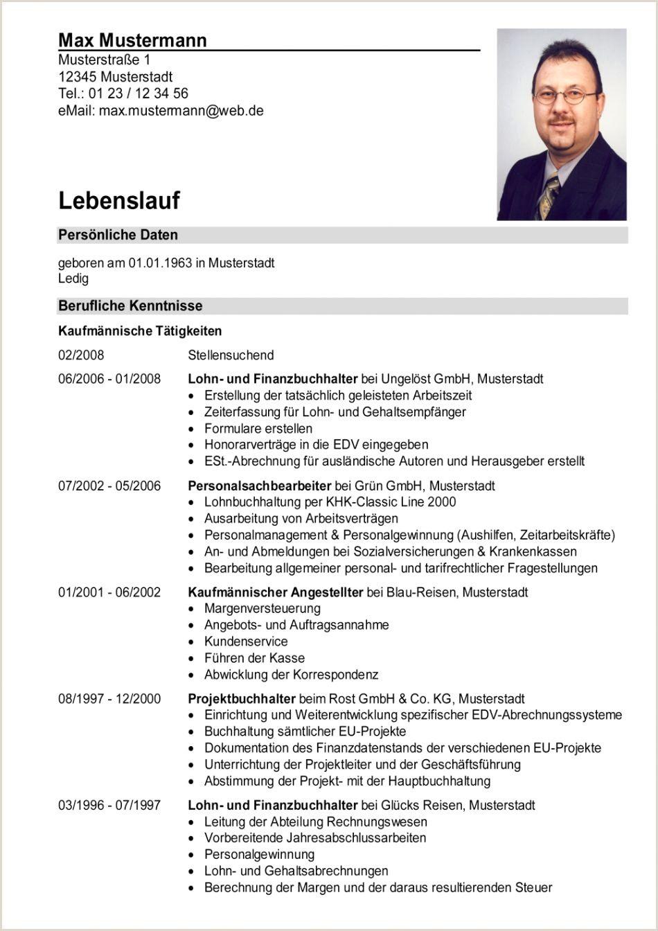Lebenslauf Muster Mit Berufserfahrung In 2020 Curriculum Vitae Cv Examples Curriculum