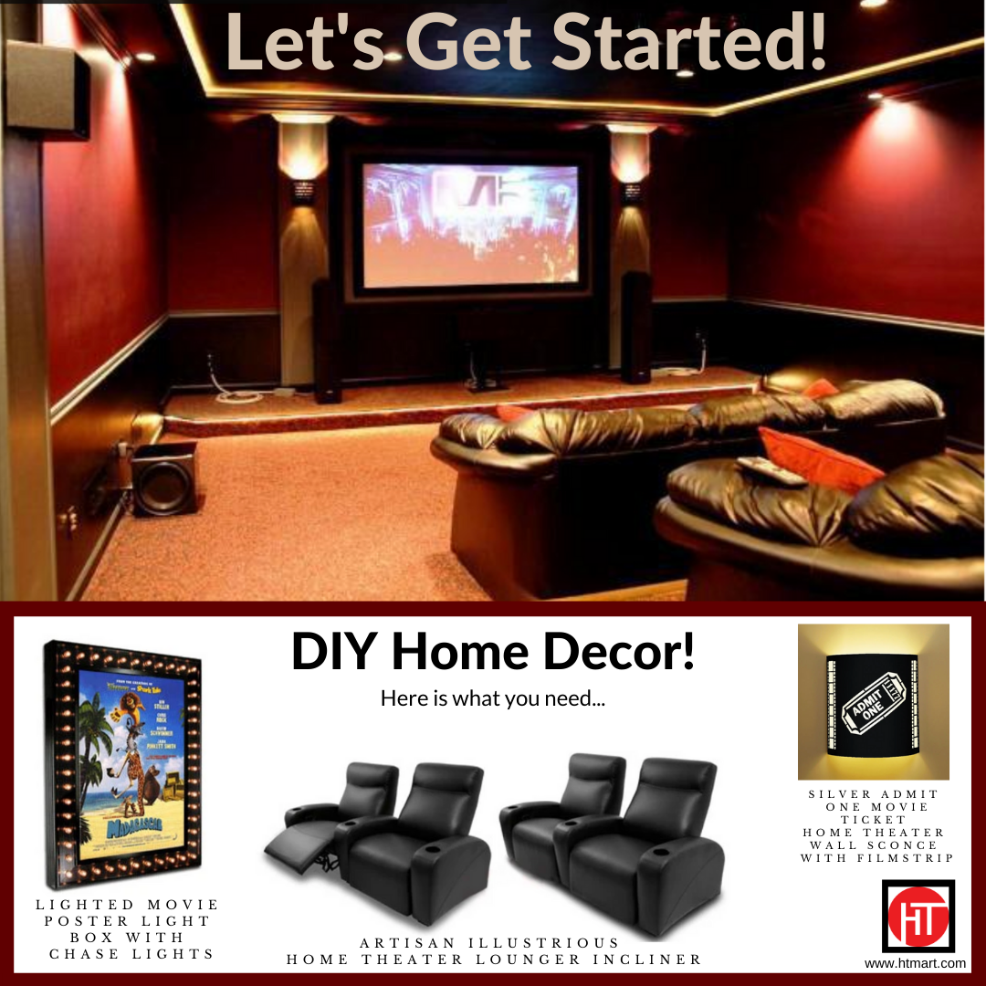 Movie Room Decor For Sale  from i.pinimg.com