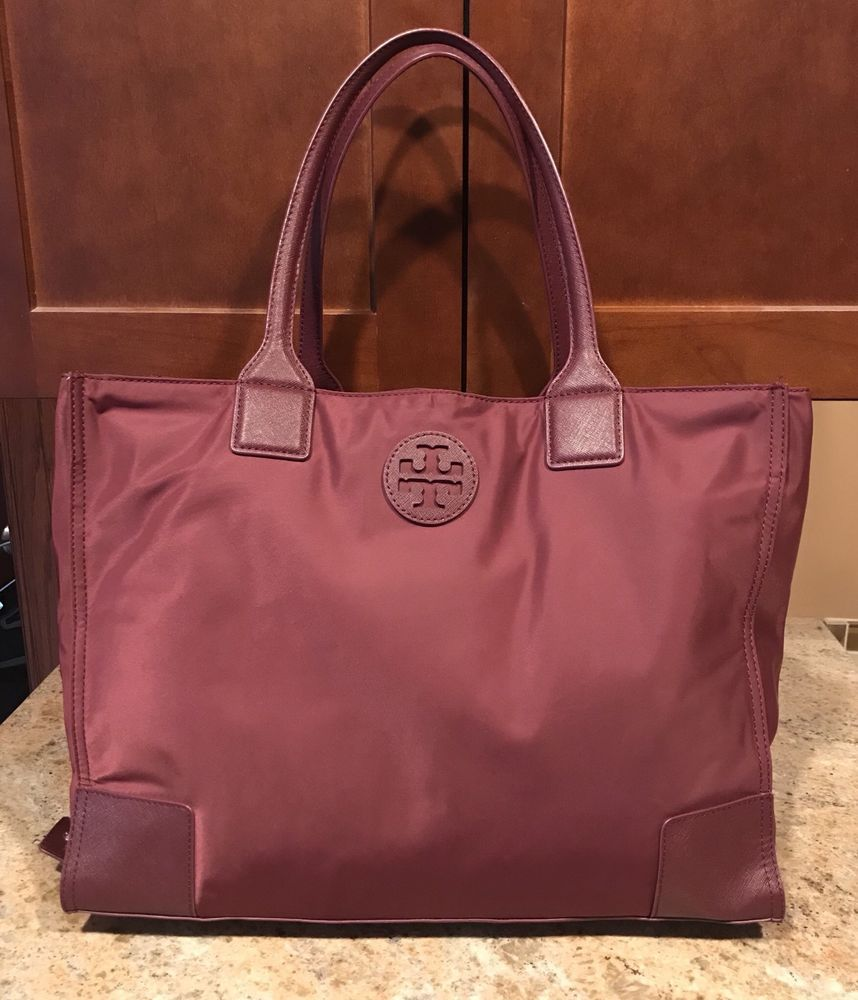 Tory Burch Ella Packable Nylon Tote Bag in 2018   Bags for Sale ... 35e105d1cc
