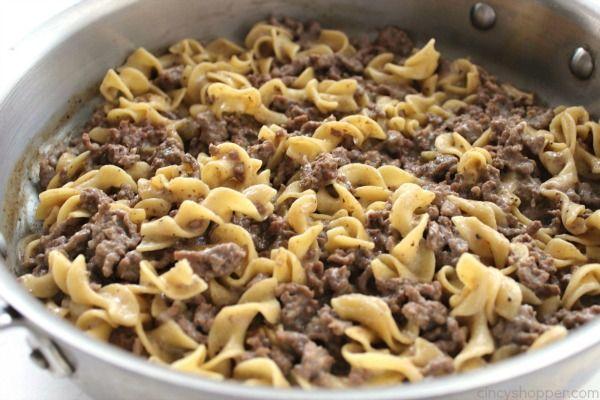 Hamburger Helper Beef Pasta Recipe