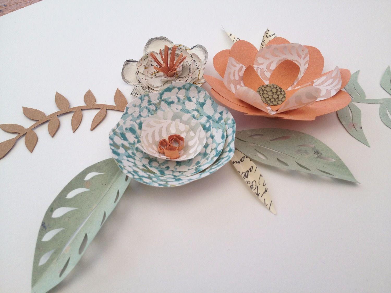 Paper Art Flowers Paper Artlding Cutting Sculpting