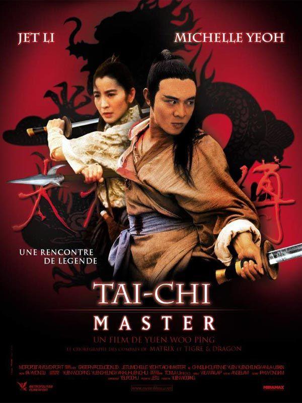 Tai Chi Master Film Poster Kung Fu Movies Martial Arts Film Martial Arts Actor