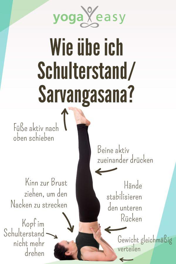 Asana des Monats: Sarvangasana – der Schulterstand #pilatesyoga