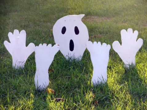 outdoor halloween decorations Outdoor Halloween Decorations « CBS - how to make halloween decorations for yard