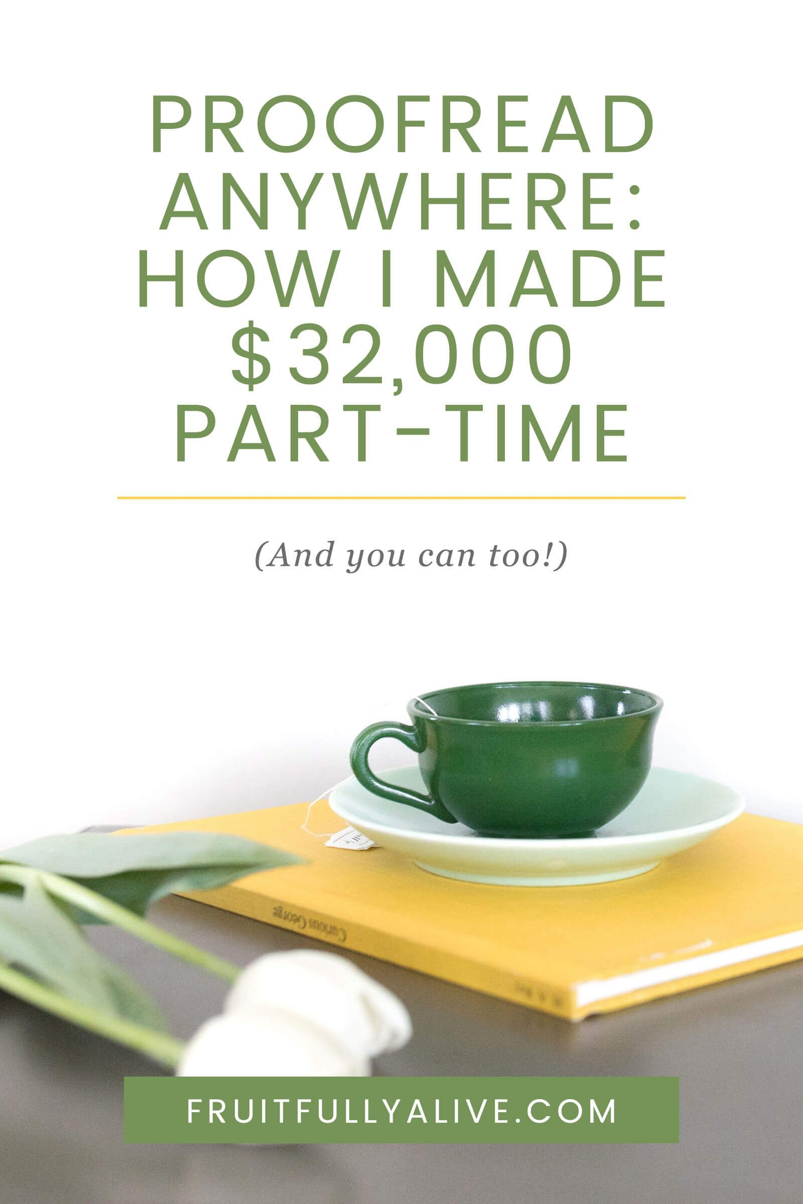 Proofread Anywhere Review: How I Made $32,000 Part Time (And You Can ...