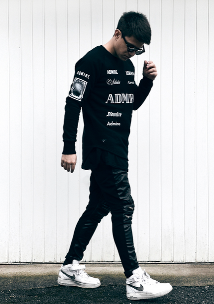 Admiral Streetwear Clothing | B&W | Easy Casual Look