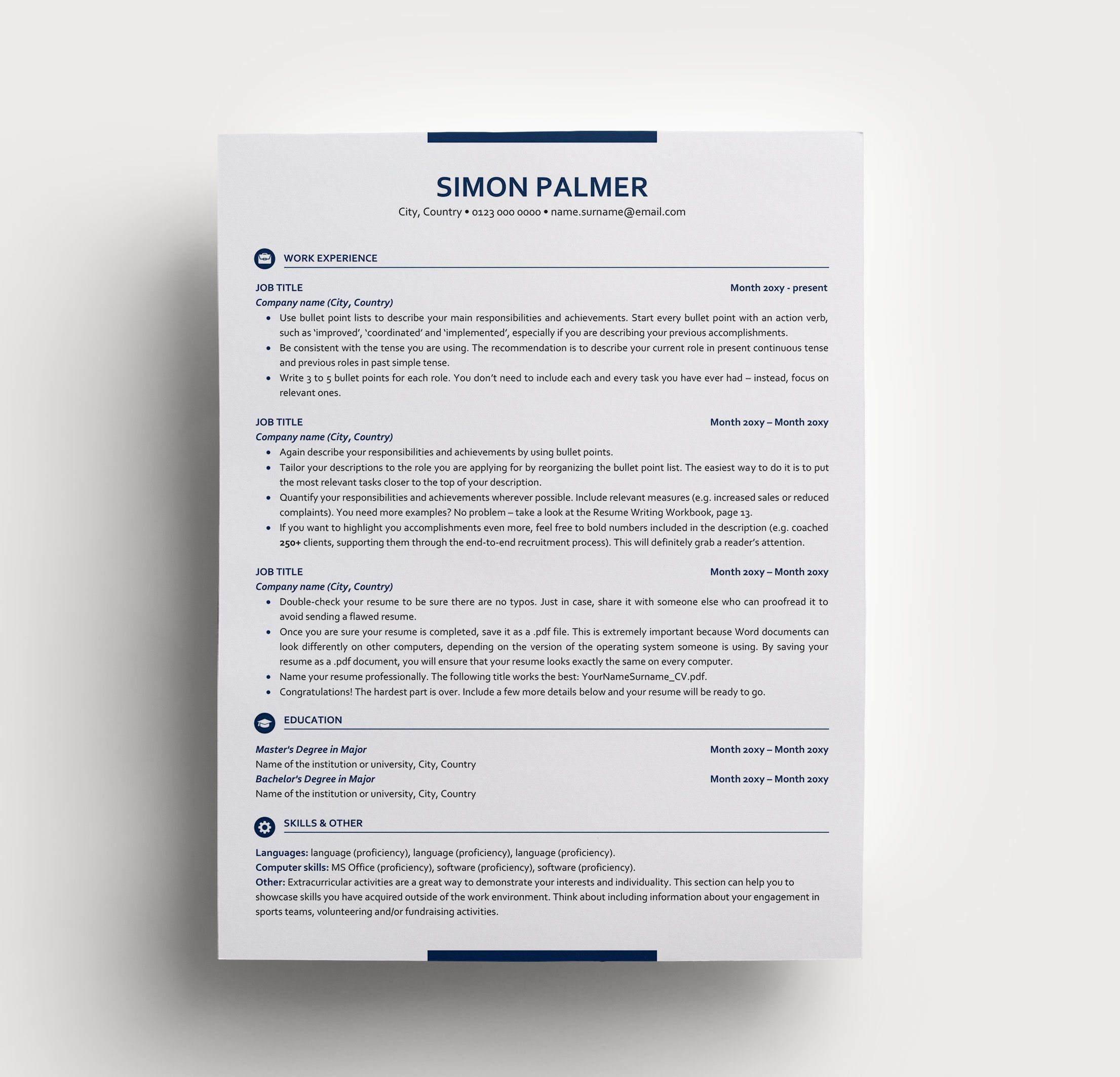 Looking for a professional and modern resume & cover letter ...