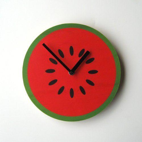 Amazon.com: Watermelon Wall Clock: Home & Kitchen