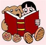 Honden kunnen goed luisteren als een kind voorleest